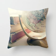 oh, the places you'll go Throw Pillow