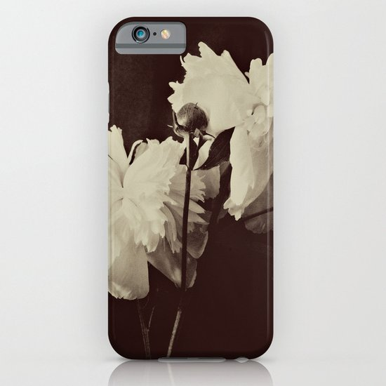 White Peony iPhone & iPod Case
