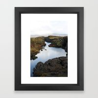 Halcyon Still Framed Art Print
