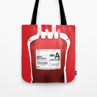 My Blood Type is A, for Awesome! *Classic* Tote Bag