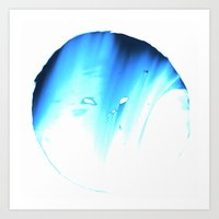 bluemoon Art Print