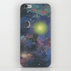 Galaxy. Order in chaos. iPhone & iPod Skin
