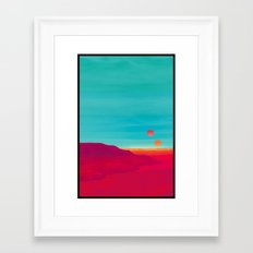 Far Away Framed Art Print