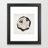 Framed Art Print featuring My Simple Figures: The C… by Anton Marrast
