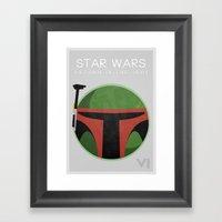 Star Wars VI: Return Of … Framed Art Print
