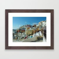 Thira Beauty Framed Art Print