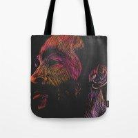 Marvin Gaye Color version Tote Bag