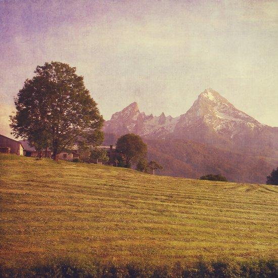 WATZMANN - mountain in the Bavarian Alps Canvas Print