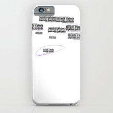 Twomblish wall of words iPhone 6 Slim Case