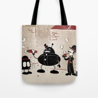 Smoke Break At The Clink… Tote Bag