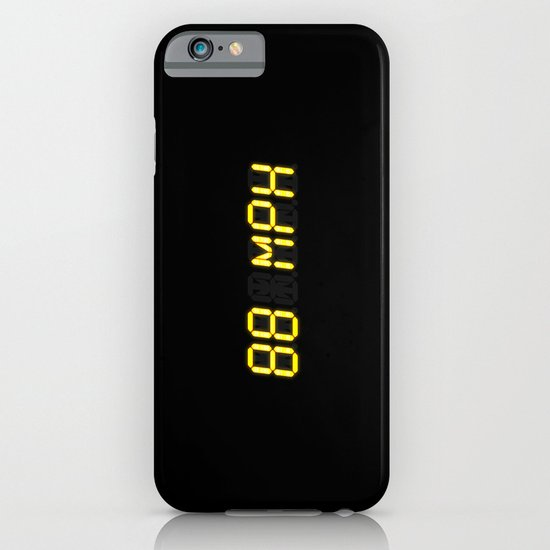 88 mph - Back to the future iPhone & iPod Case