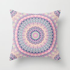Mandala 256 Throw Pillow