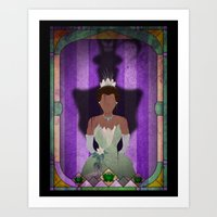 Shadow Collection, Series 1 - Frog Art Print