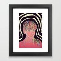 Interstellar Comunications Framed Art Print