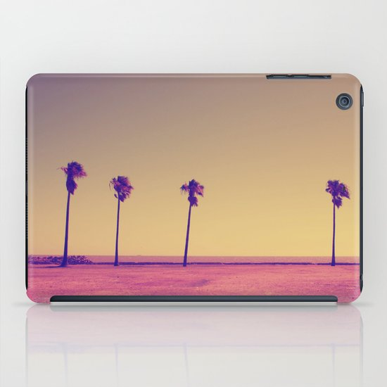 Four Palms In Paradise iPad Case