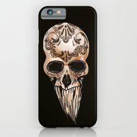 iPhone & iPod Case featuring Skulll by Lilyana Reyes