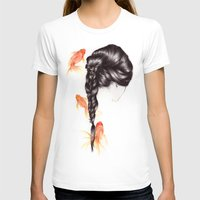 hair T-shirts featuring Hair Sequel III by The White Deer