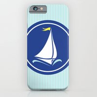 Sailboat Print  iPhone 6 Slim Case