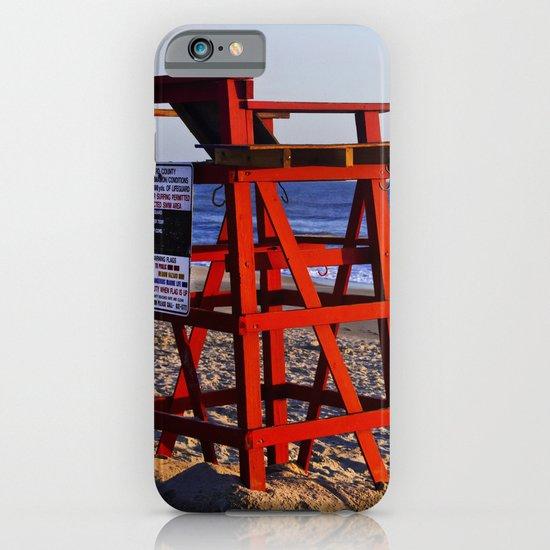 Beach Rules iPhone & iPod Case