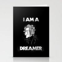 I am a Dreamer - Lennon Illustration Stationery Cards