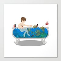 Child's Sea Adventure Canvas Print
