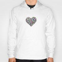 Rainbow Hearts Hoody