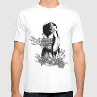 Aversion Mens Fitted Tee White SMALL