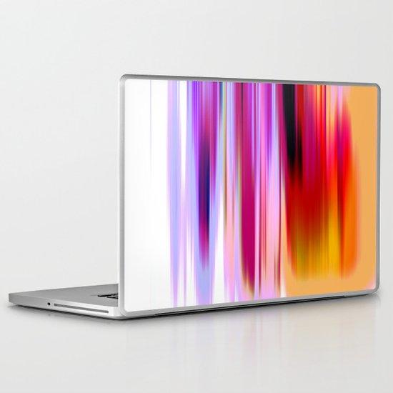 Tangerine Ombre Laptop & iPad Skin