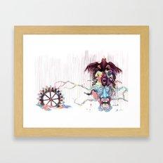 Cuckoo's Nested Fear Framed Art Print