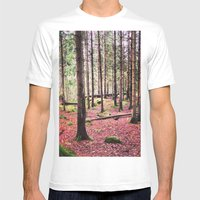 Ruby Sunday Mens Fitted Tee White SMALL