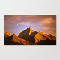 Shadows in Kanaskis Country Canvas Print