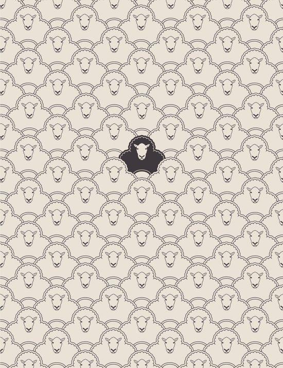 Black Sheep Art Print