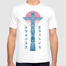 Totem Ressurection Mens Fitted Tee White SMALL