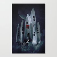 House of Knives 1 Canvas Print