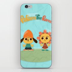 Parappa & Sunny iPhone & iPod Skin