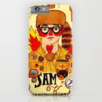 iPhone Cases featuring Moonrise Kingdom SAM by Ricardo Cavolo