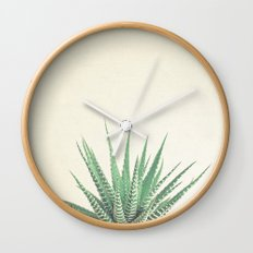 Haworthia Wall Clock
