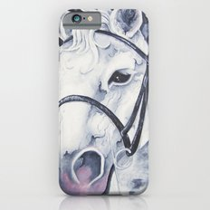Pale White Horse iPhone 6s Slim Case