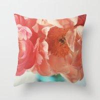Paeonia #4 Throw Pillow