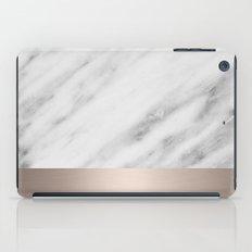 Carrara Italian Marble Holiday White Gold Edition iPad Case