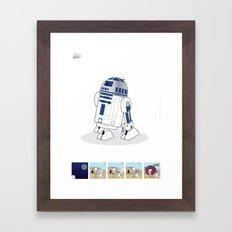 R2 D2 Mec Poster Framed Art Print