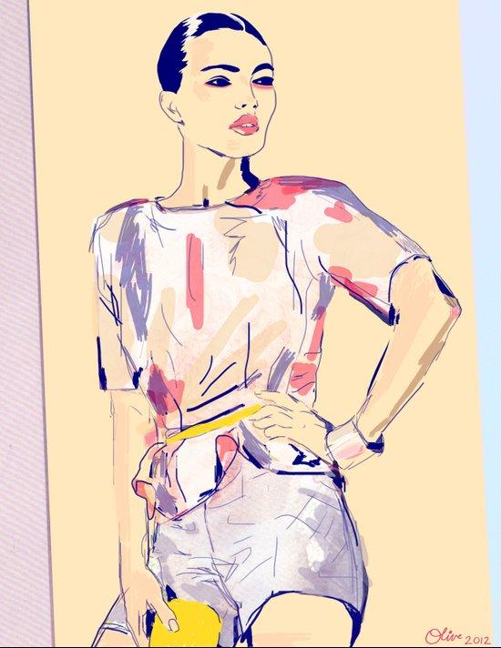 Fierce and Free /// Jessie Art Print