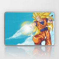 Goku SS3 Laptop & iPad Skin
