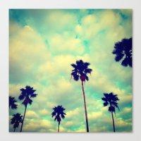 More Palms Canvas Print