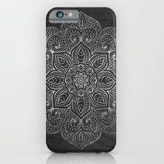 Wood Mandala - Silver Slim Case iPhone 6s