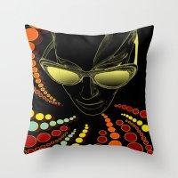 Kisses From Planet Uzu -… Throw Pillow