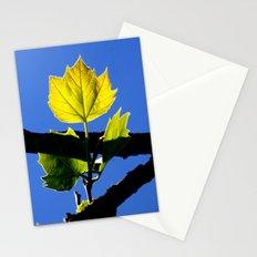 Spring Leaf. Stationery Cards