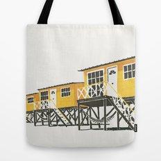 On Paper: Tres Amarillos Tote Bag