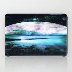Mystic Lake Teal Violet iPad Case