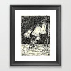 navigation improbable Framed Art Print